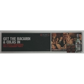 Bacardi & Cola Party Bar Runner