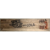 Bacardi Oak & Cola Bar Runner