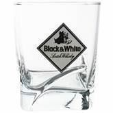 Black & White whiskyglas, 6 stk.