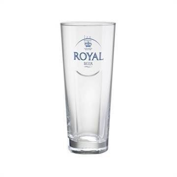 Royal Beer Profil ølglas, 50 cl, 6 stk.