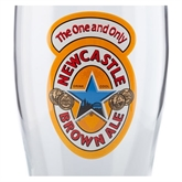 Newcastle Brown Ale ølglas