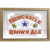 Newcastle Brown Ale barspejl