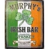 Murphy's Irish Bar metalskilt