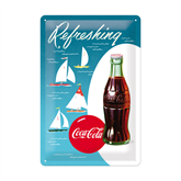 Coca-Cola metalskilt, Sailing