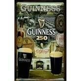 Guinness metalskilt, 250 years