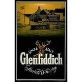 Glenfiddich metalskilt