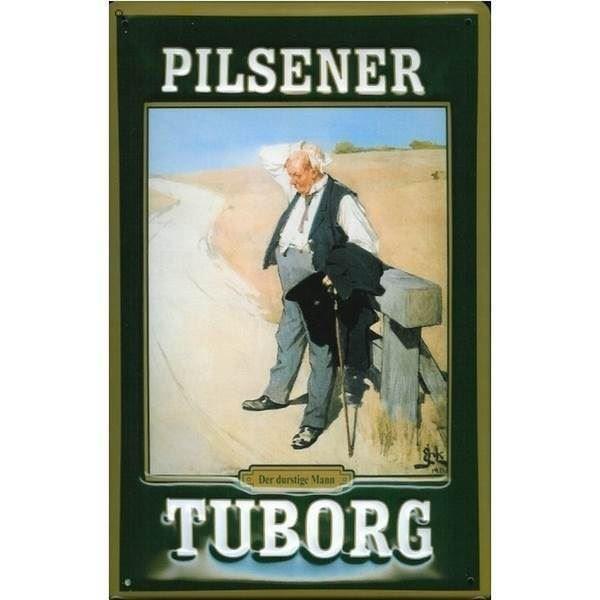 nok Tuborg metalskilt, Pilsener MN43