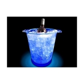 Ice Blue champagnekøler m/LED lys
