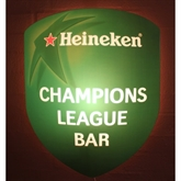 Heineken Champions League Bar lysskilt
